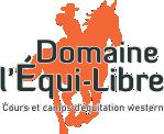 École d'équitation Domaine l'Équi-Libre Logo